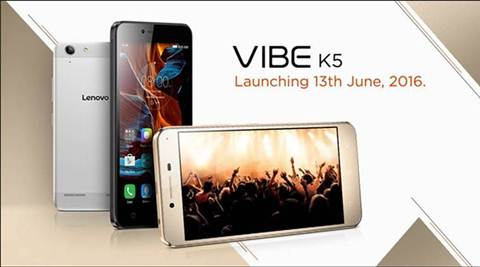 Lenovo Vibe K5 India launch confirmed for June 13 | The