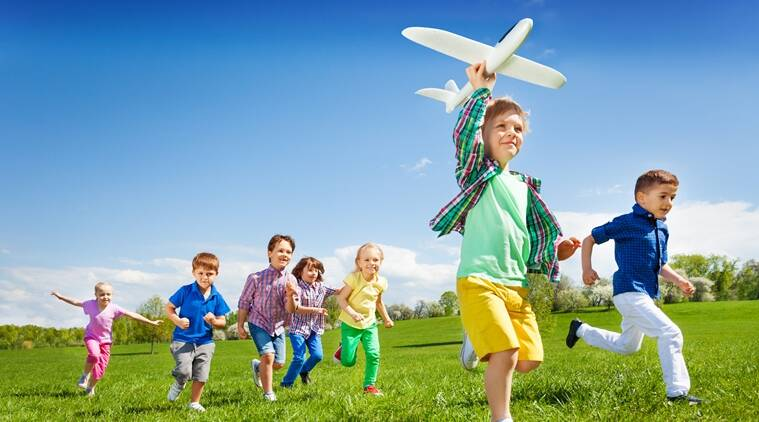 Outdoor games may boost academics cut obesity in kids