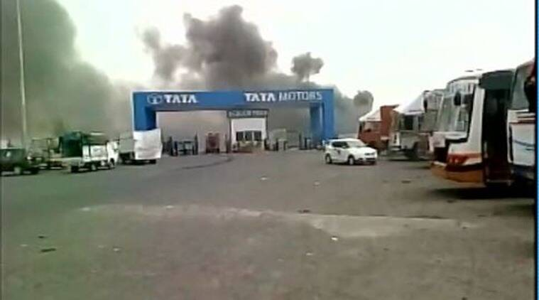 Tata motors plant in india list newmotorspot fire at tata nano s vendor park in sanand no casualties the asfbconference2016 Image collections