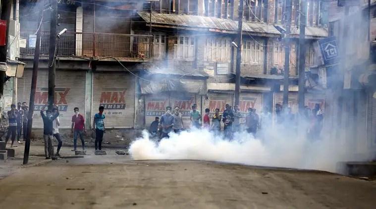 Image result for Protest against Raids, Crackdowns Held in Srinagar