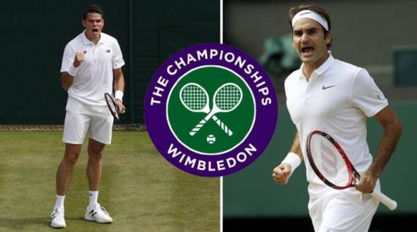 Image result for Federer, Andy Murray, Milos Raonic