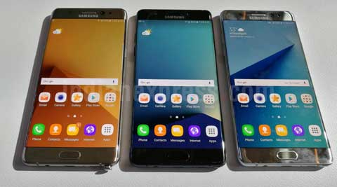 Image result for After US caution, DGCA bans Samsung Galaxy Note 7 on-board aircraft