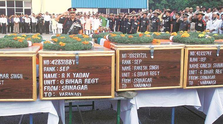 uri, uri attack, uri martyrs, uri army martyrs, martyrs in uri, jawans in uri, army jawans killed in uri, uri terror attack, pakistan, pakistani terrorism, indian army