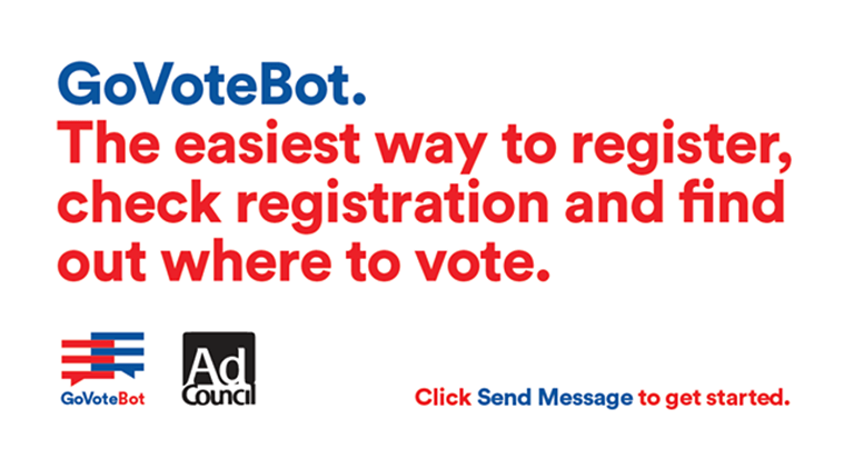 GoVoteBot, register to vote, US presidential elections, register to vote through FB, register to vote through Facebook, Donald Trump, Hillary clinton, GoVoteBot voting, latest news, latest world news