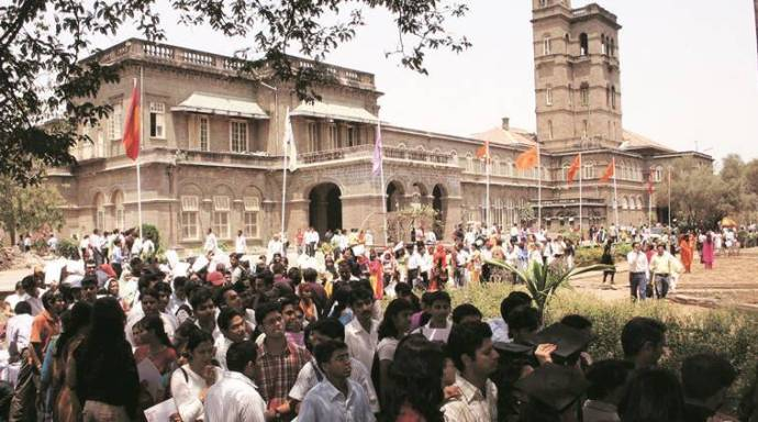 Pune university admission form