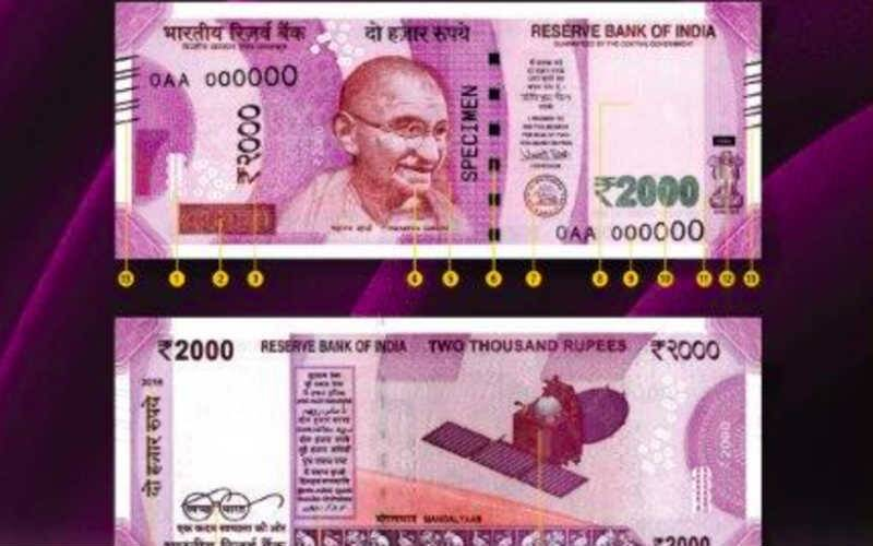 Image result for 2000 new note of indian currency