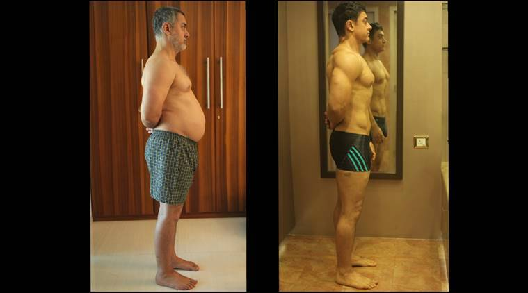 aamir khan, aamir khan dangal, aamir khan weight loss, aamir khan fat to fit, aamir khan fitness tips, aamir khan how to lose weight, how to lose weight, dangal fitness story, lose 25kg in 6 months, indian express, indian express news