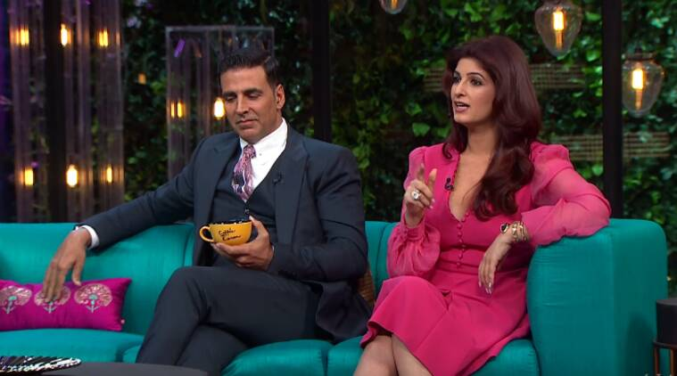 Image result for twinkle khanna on koffee with karan