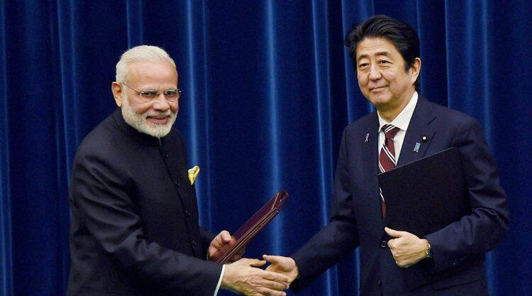 narendra modi, modi in japan, modi japan visit, modi shinzo abe, india japan relations, modi abe talks, modi visit to japan, shinkansen, japan bullet train