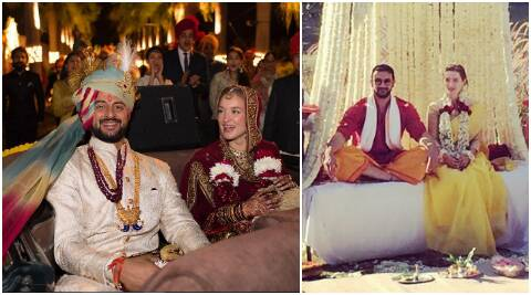 Arunoday Singh's wedding with Canadian girlfriend Lee Elton is too royal to be true, seepics