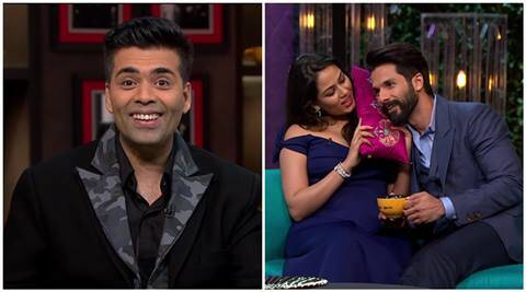 Koffee with Karan: Shahid Kapoors wife Mira replies to Karan Johars dirty question like aboss