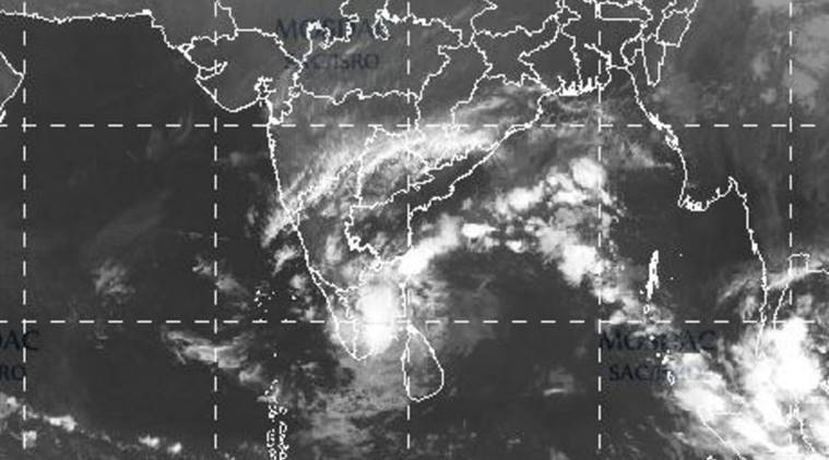 Image result for Images Vardah-the cyclone in Chennai