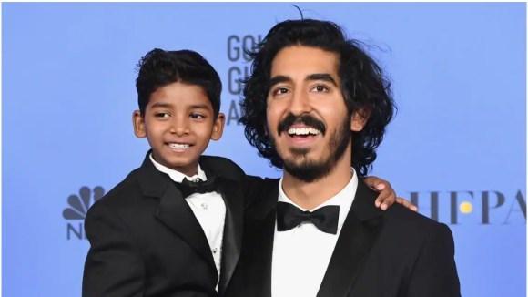Dev Patel, Golden Globe 2017, Golden Globe, Sunny Pawar, Dev Patel Golden Globe 2017, Dev Patel Golden Globe