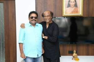 Rajinikanth with director Seenu Ramswamy