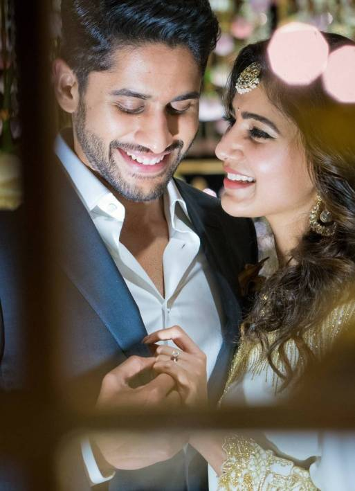 Samantha chaitanya engagement, chaitanya samantha engagement, samantha engagement pics, chaitanya engagement pics, samantha chaitanya pics, samantha chaitanya news, samantha news, sam chai engagement, tollywood news, entertainment news