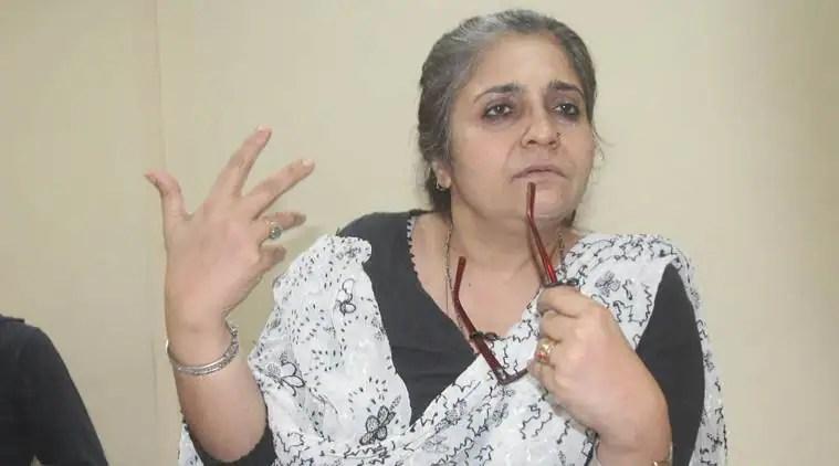 Teesta Setalvad, Teesta Setalvad case, Teesta Setalvad Embezzlement Case, Gujarat high court, Teesta Setalvad money laundering, Indian express