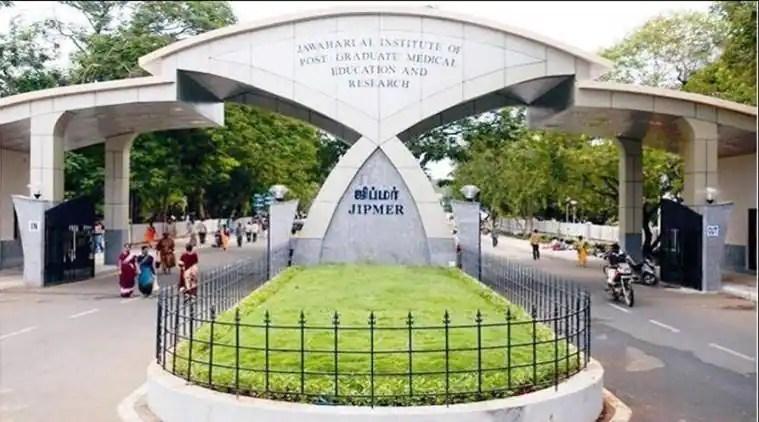 JIPMER, JIPMER MBBS online entrance exam, JIPMER seats ,JIPMER MBBS online entrance exam schedule, JIPMER candidates, education news, indian express news
