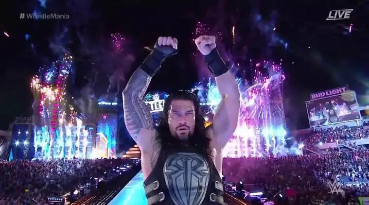 WWE Superstar Roman Reigns
