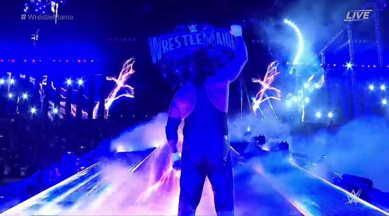 Image result for The Undertaker retires at WrestleMania 33