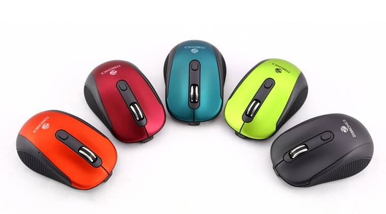 Silent mouse, Denoise, Noiseless mouse, wireless mouse, Zebronics, first silent mouse in india, technology news
