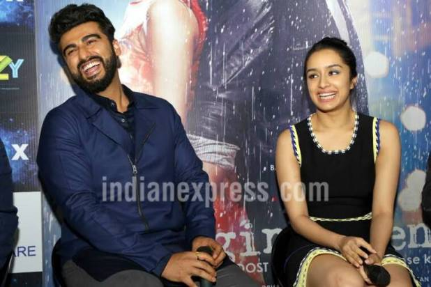 half girlfriend promotions, half girlfriend, half girlfriend stills, half girlfriend pics, half girlfriend shraddha kapoor, half girlfriend arjun kapoor, half girlfriend poster