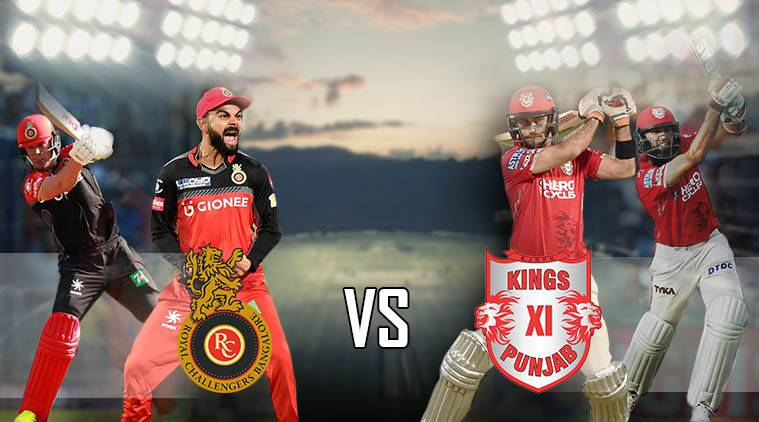 Ipl 2017 Rcb Vs Kxip Kings Xi Punjab Beat Royal