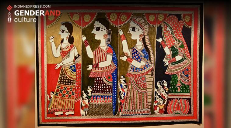 Madhubani art Why painting is integral to womens