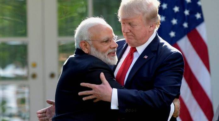Image result for modi with trump