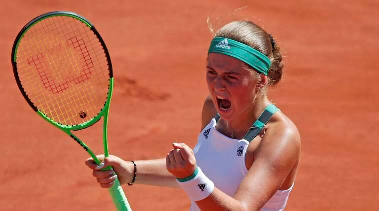 Jelena Ostapenko beats Simona Halep 4-6, 6-4, 6-3, wins French Open 2017