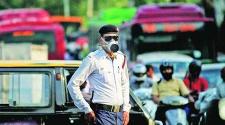 Image result for Delhi traffic cops to undergo health check