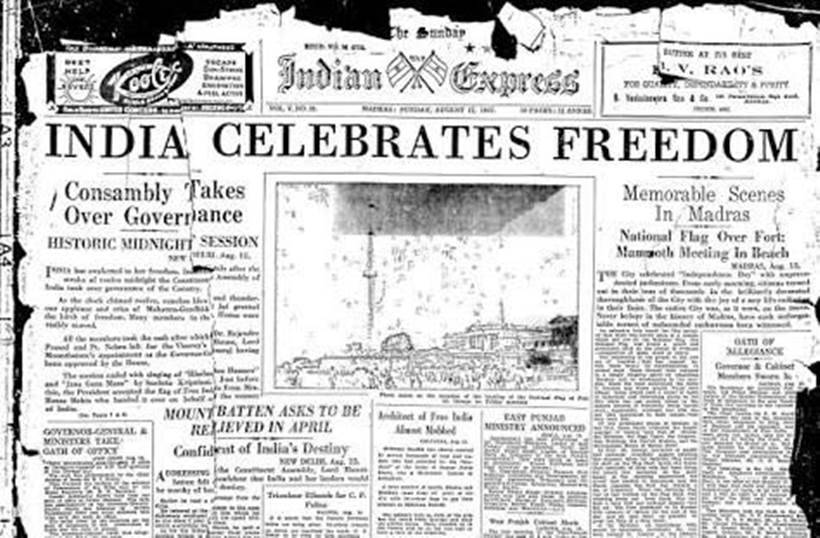 How World Newspapers Reported Indias Independence In 1947