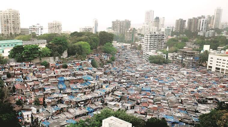 Mumbai most populous in county 413 live in slums