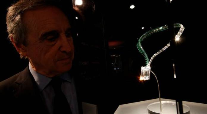 diamond, flawless diamond, auction, Geneva, Switzerland, 163.41-carat diamond, de GRISOGONO, Founder Fawaz Gruosi, Christie's, Rahul Kadakia, International Head of Christie's, gem, expensive jewellery, Indian express Indian express news
