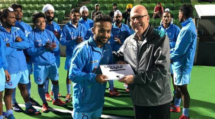 Armaan Qureshi, Affan Yousuf, Amit Rohidas, Talwinder Singh, Liam Flynn, hockey, india a hockey, western australia, india a vs western australia, sports news, indian express