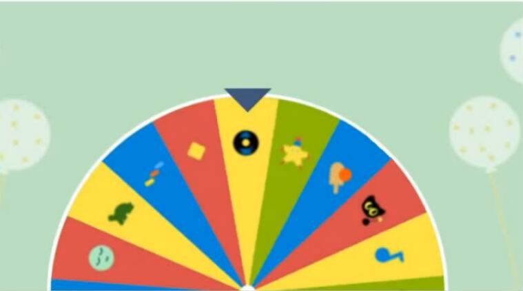 Google 19th Birthday Surprise Spinner Doodle How To Play