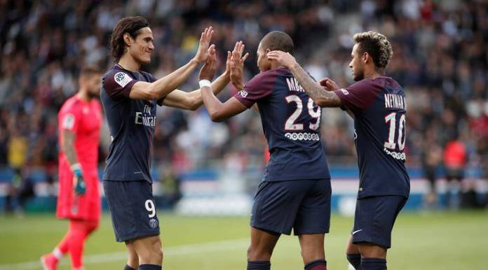 paris saint germain, psg, ligue 1, neymar, edinson cavani, kylian mbappe, Bordeaux, football, sports news, indian express