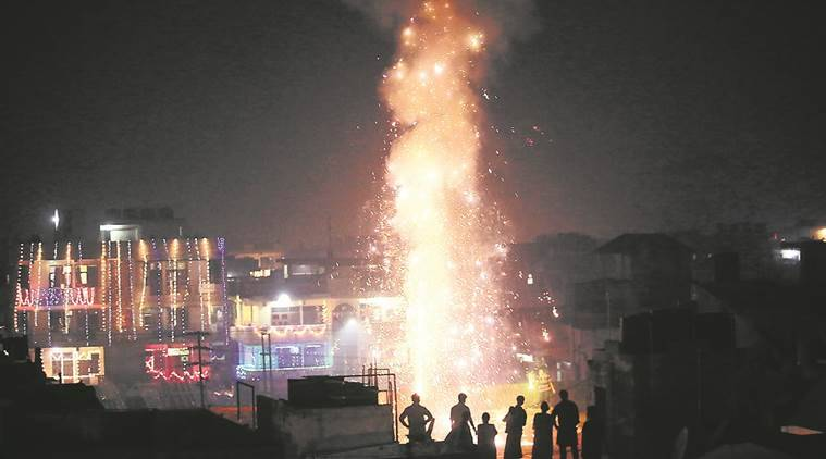 Image result for 40 Per Cent Dip in Emissions From Firecrackers This Diwali: Study