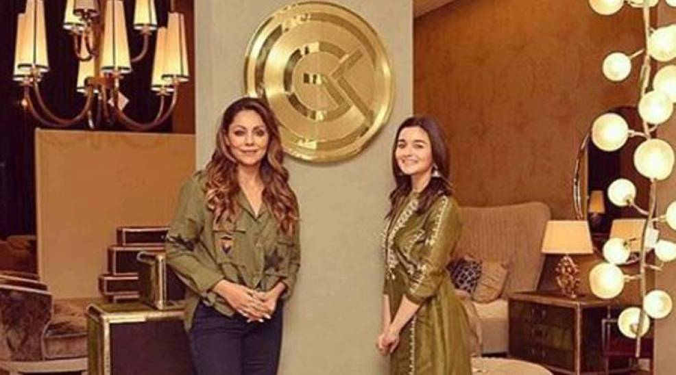 Image result for What's new at the Gauri Khan store? A sparkling Alia Bhatt