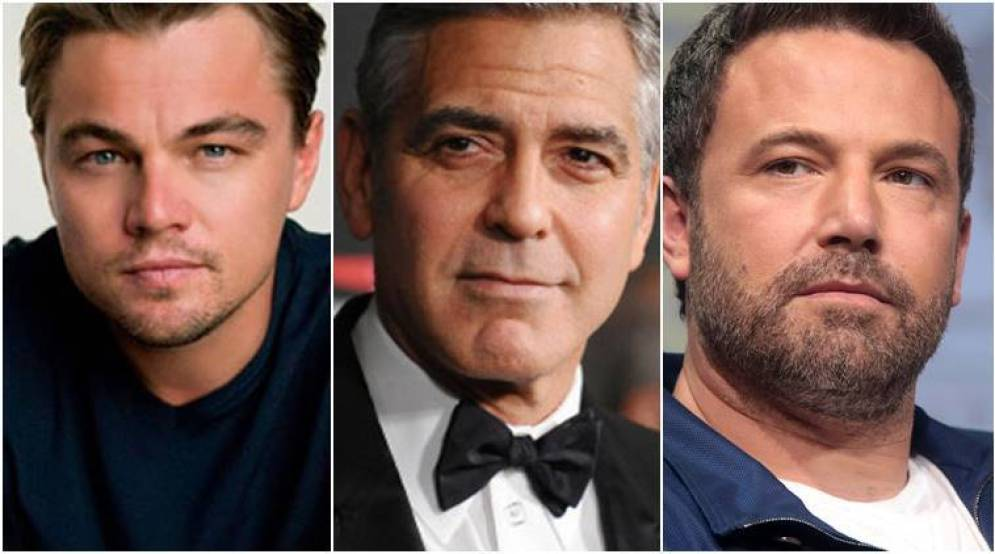 Image result for George Clooney, Leonardo DiCaprio and Ben Affleck condemn Harvey Weinstein