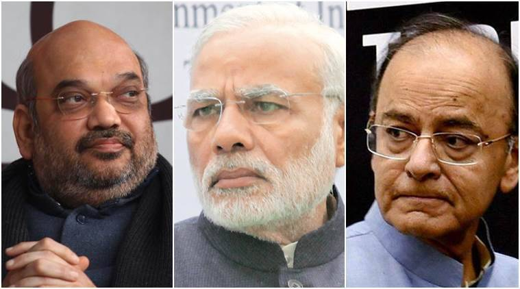 PM Modi holds meeting with Amit Shah, Arun Jaitley