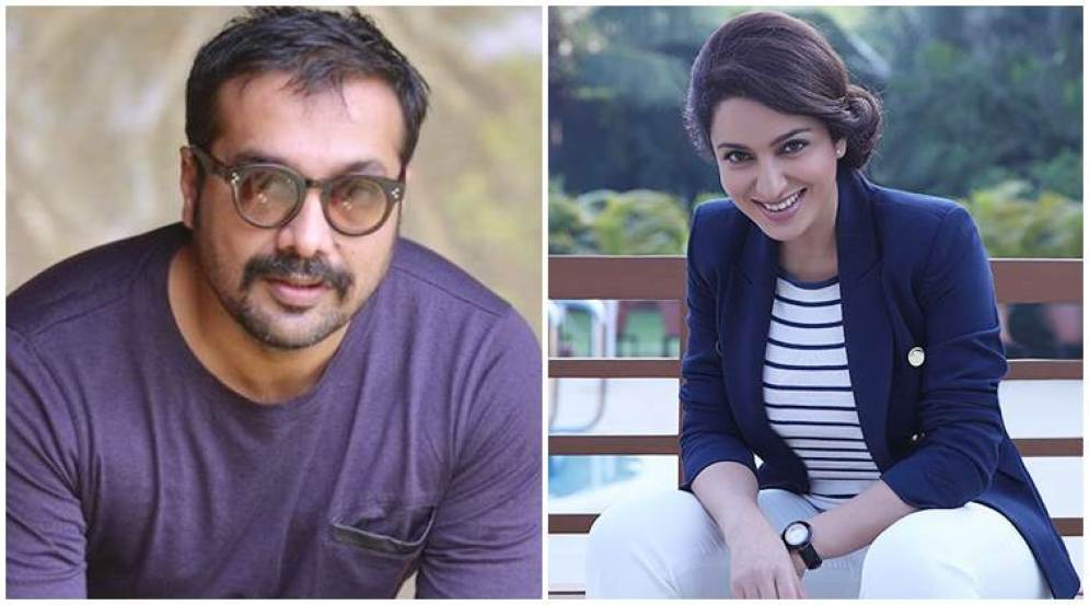 Image result for Tisca Chopra , Anurag Kashyap