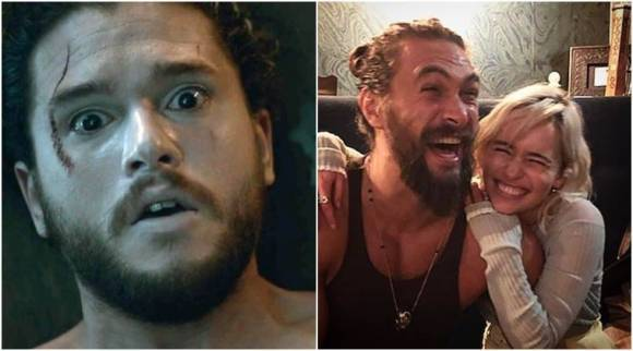PHOTO: Look out Jon Snow, says Emilia Clarke while getting clicked with KhalDrogo