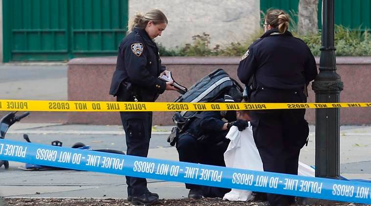 Manhattan shooting: At least six dead, nine injured after van driver hits civilians, suspect shot by NYPD
