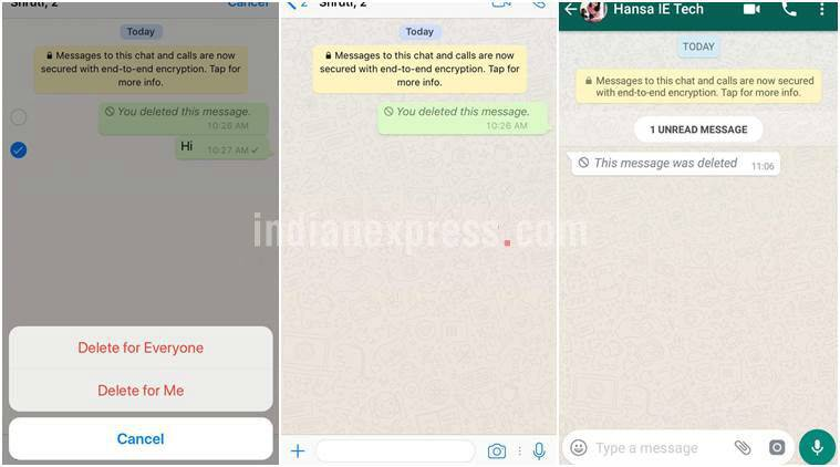 WhatsApp Delete for everyone how to read deleted messages