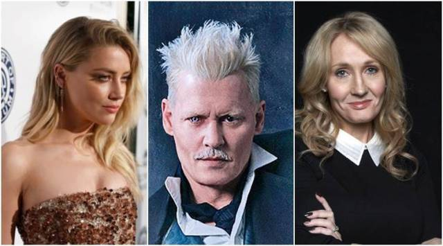 Amber Heard responds to JK Rowlings statement on casting Johnny Depp in Fantastic Beasts
