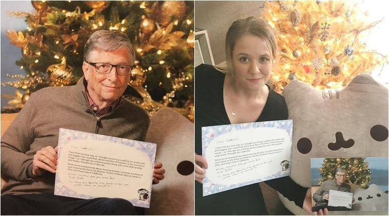 This Woman Found Bill Gates Was Her Secret Santa And