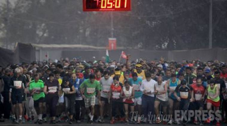kolkata police, half marathon, road accidents, safe driving, policing, west bengal news, indian express