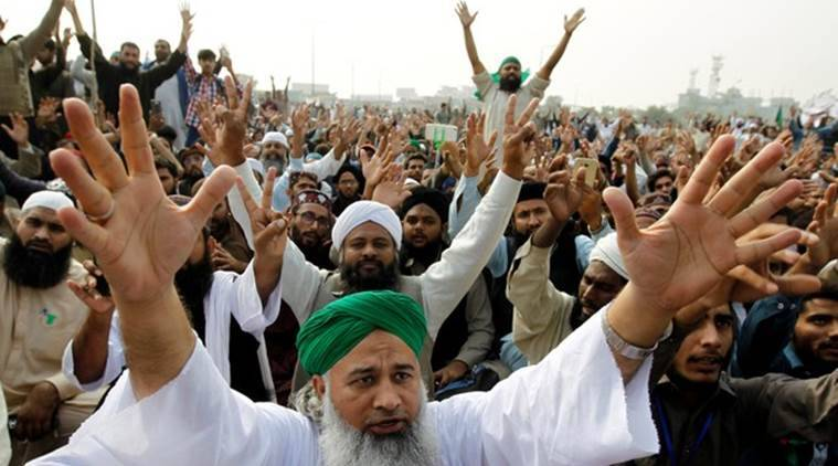 pakistan, pakistan protests, pakistan blasphemy laws, pakistan protests blasphemy laws, Tehreek-i-Labaik Ya Rasool-ullah, pakistan news, indian express, indian express news