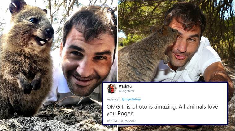 VIDEO showing Roger Federer spend quality time with world's happiest animal is just ADORABLE