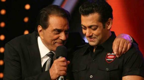 Dharmendra touched by Salman Khan's visit to his farm; calls him his son